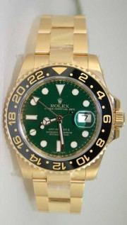 Rolex GMT Master II 116718 Ceramic Bezel and Green Dial Anniversary Edition