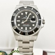 Rolex 43mm Stainless Steel New Style Heavy Band Sea Dweller Deep Sea Model 126600 UNUSED Newest Edition! (Red Sea Dweller Letters)