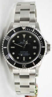 "Rolex Sea-Dweller Stainless Steel Model 16600 ""No Holes Case"""