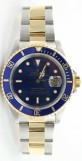 Rolex Submariner 16613 Steel & 18K Gold Blue Face Perfect Like New 1990's Model